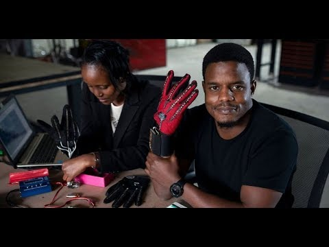 The Morning Rush - Man invents glove to translate sign language to audio to help niece