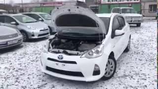 """Обзор авто Toyota Aqua 2014. Авто площадка """"Арена27"""""""
