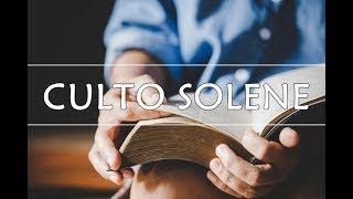 CULTO SOLENE - A MISERICORDIA DE DEUS E A REAÇÃO HUMANA EM UM ISOLAMENTO -  25/04/21