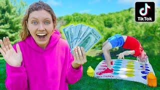 Ultimate Twister TikTok Life Hack Challenge (Winner Gets $10,000 GOLD Treasure)