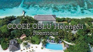 Roomtour Luxus Beachvilla Male 🏝 - COOEE Oblu Helengeli | Mellitheunicorn