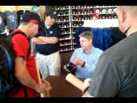 Dale Murphy at Trustmark Park in Pearl,  MS