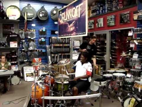 marco wood at guitar center drum off 2011 san marcos store prelim youtube. Black Bedroom Furniture Sets. Home Design Ideas
