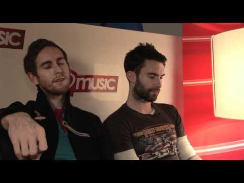 Maroon 5 interview - Adam Levine and Jesse Carmichael (part 2)
