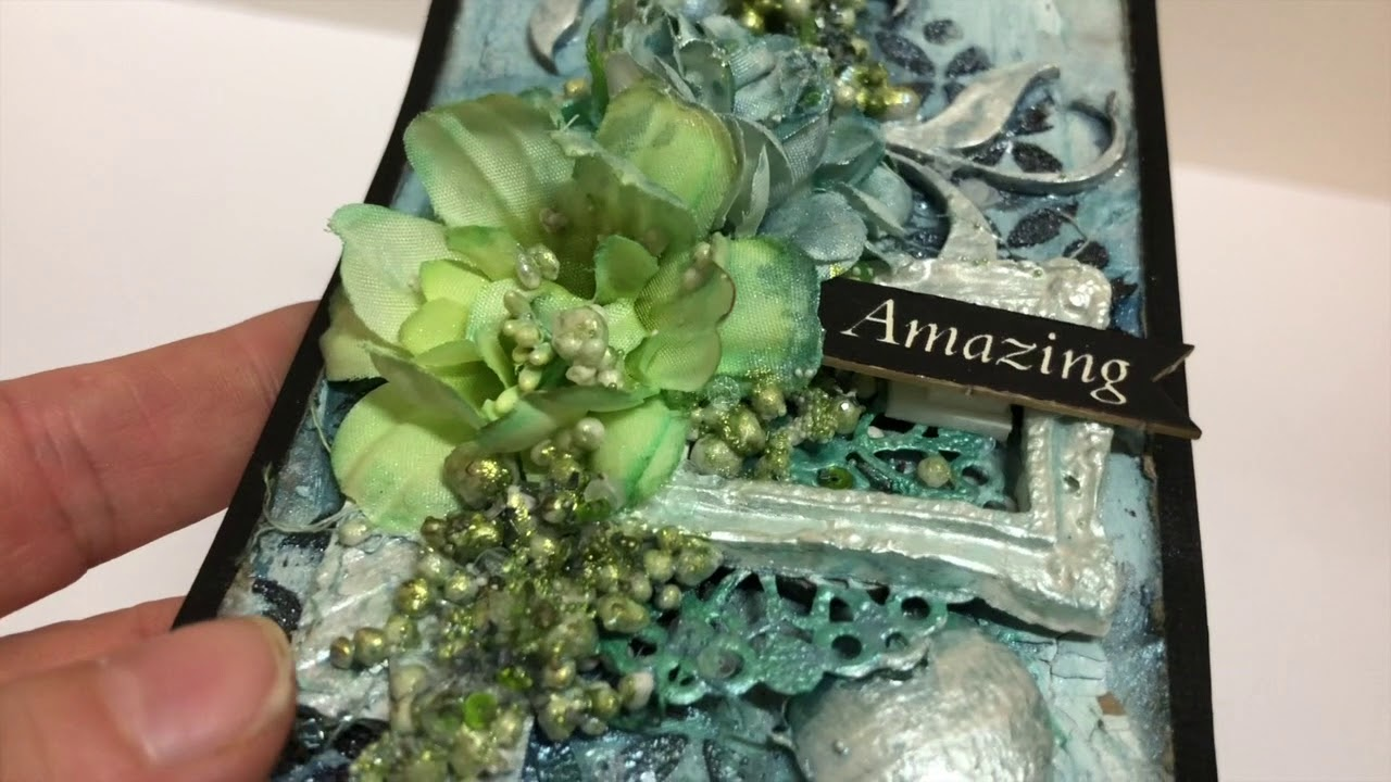 Mixed Media Tags with Janine