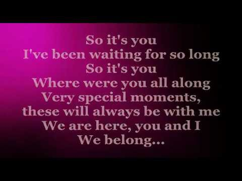 So Its You Lyrics  CHRISTIAN BAUTISTA