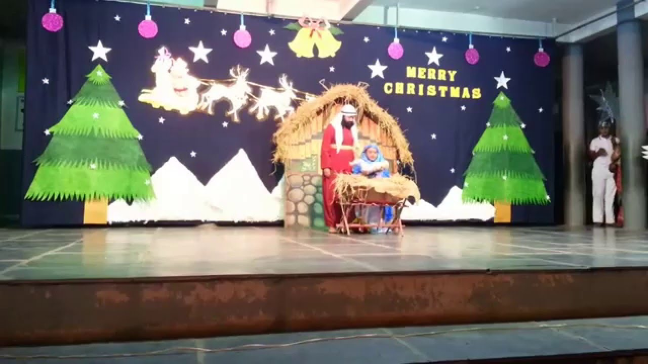 christmas stage decorations school www inpedia org - Christmas Stage Decorations