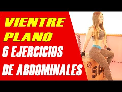 VIENTRE PLANO: 6 Ejercicios de abdominales | STRONG ABS AT HOME