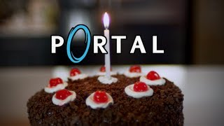 Portal Cake! It's Not A Lie! Feast Of Fiction Ep. 14
