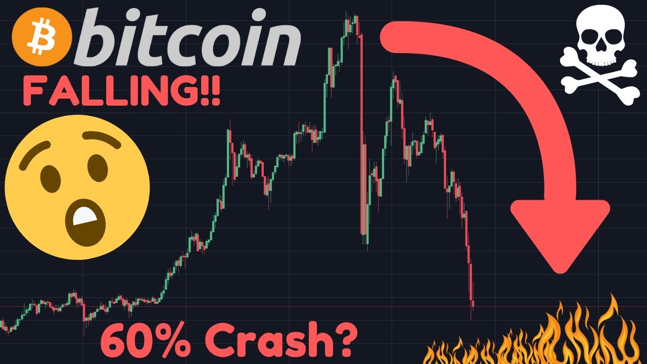 BITCOIN FALLING!! Next Target $7,000?? | Is the Parabolic Move Over?! | Altcoins