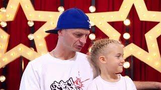 """Ojciec z córką RAPOWALI na scenie """"Mam Talent!"""" Jak jurorzy zareagowali na ten występ?"""