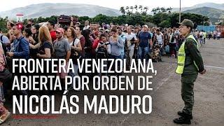 Frontera Colombia - Venezuela: Maduro ordena reabrirla | Noticias| El Espectador