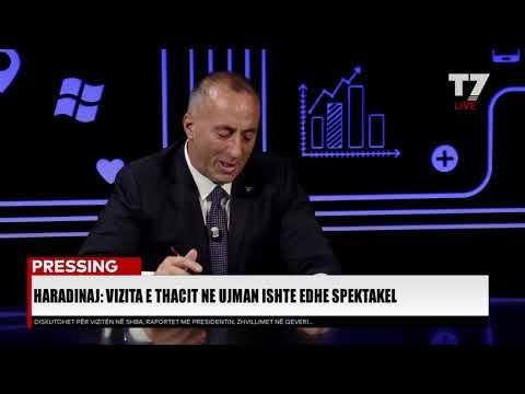 PRESSING, Ramush Haradinaj - 01.10.2018