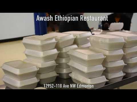 Edmonton Ethiopian Restaurant FEEDING THE HOMELESS !