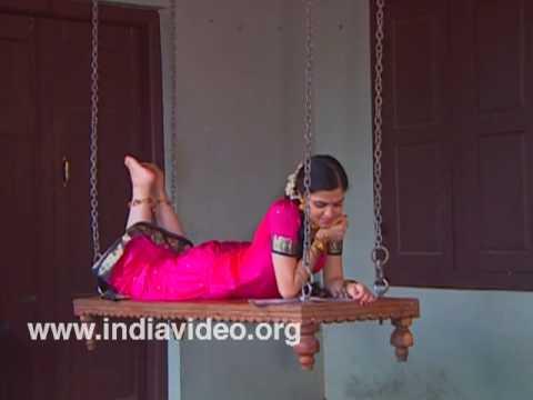Aattu kattil, the swinging bed of Kerala