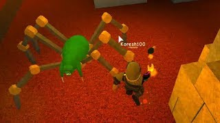 MAZE of HORROR ROBLOKS Running in the maze of Fight with the monster The Labyrinth roblox