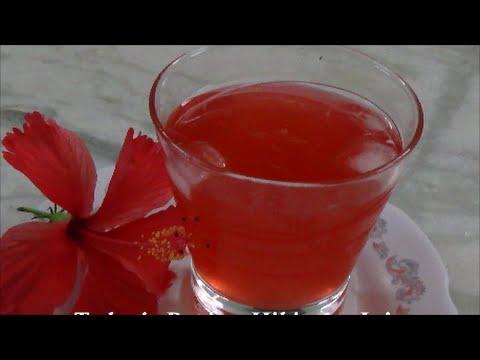 Hibiscus Juice How To Make Hibiscus Juice Summer Special Juice