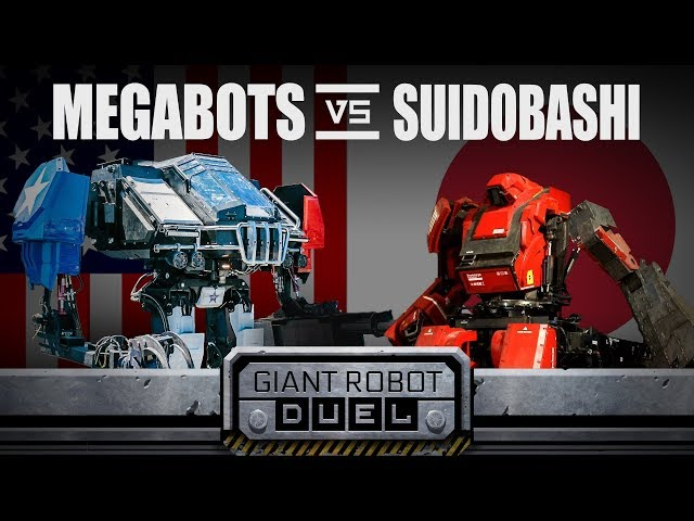 After 3 rounds of giant USA vs  Japan robot fighting     We