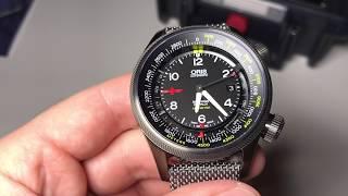 Обзор уникальных Oris Big Crown ProPilot Altimeter Rega - с барометром и альтиметром