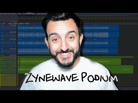 Getting to Know Zynewave's Podium Free DAW and First Time Setup TAKE TWO - DIY BAND