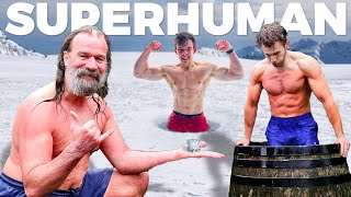 UNLOCKING SUPERHUMAN STRENGTH WITH THE ICE MAN (Wim Hof)