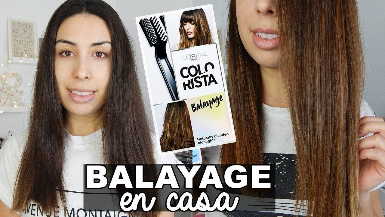 BALAYAGE EN CASA