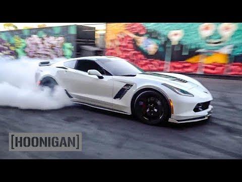 [HOONIGAN] DT 122: C7 Z06 Corvette 650hp donuts by Pro Drifter Alec Hohnadell