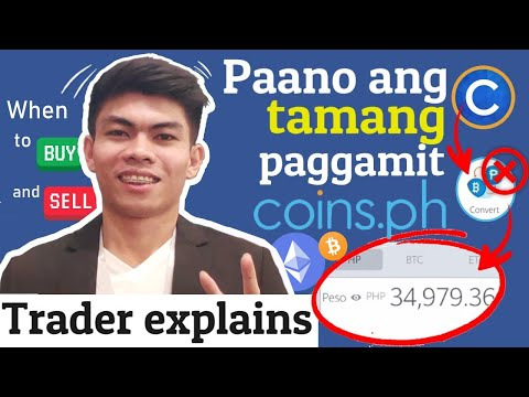 HOW THE EFFECTIVE WAY OF CONVERTING BITCOIN ON COINS.PH / TRADER EXPLAINS | ALDRIN RABINO