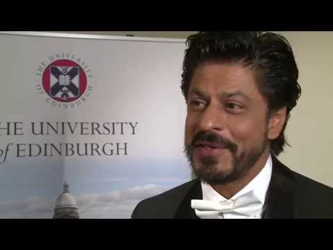 Bollywood star Shah Rukh Khan receives honorary degree