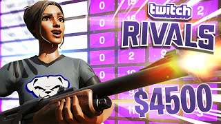 How We Came 2nd In Twitch Rivals Chat Challenge   $4500 (w/ Avery & Nosh)   Bugha