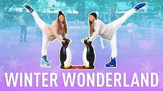 Winter Wonderland: Ice Skating In Australia! | The Rybka Twins