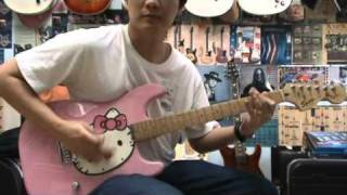 SQUIER KITTY GUITAR DEMO