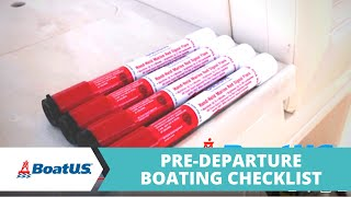 Pre-Departure Boating Checklist: Before You Go Out on the Water   BoatUS