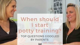 When should i start potty training? : Babies| Up All Hours