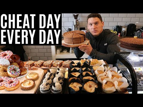 EVERY DAY IS A CHEAT DAY | IIFYM Full Day of Eating