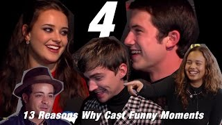 13 Reasons Why Cast funny interview moments 4!
