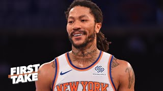 How far do you see the Knicks going in the playoffs? | First Take