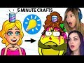 PROOF 5 Minute Crafts is NOT For Kids w/ LaurenzSide