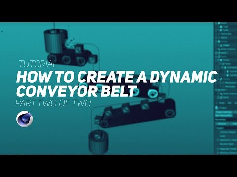 How To Make A Dynamic Conveyor Belt in Cinema 4D - Part 2
