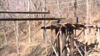 Bridge Half-pole Stringer Installation Technique