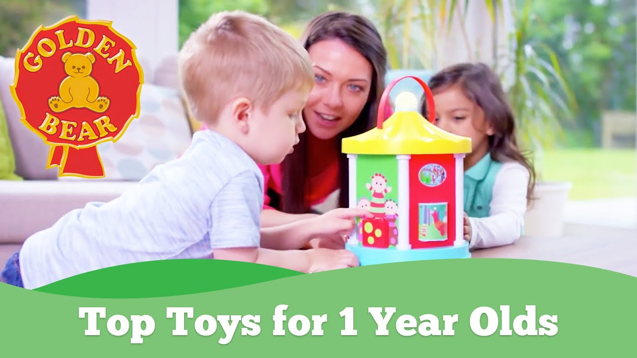 Top Toys For 1 Year Olds