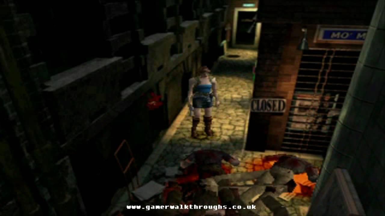 Resident Evil 3 Nemesis Ps1 Walkthrough Bronze Compass Youtube
