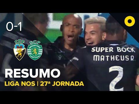 Resumo: SC Farense 0-1 Sporting - Liga NOS | SPORT TV