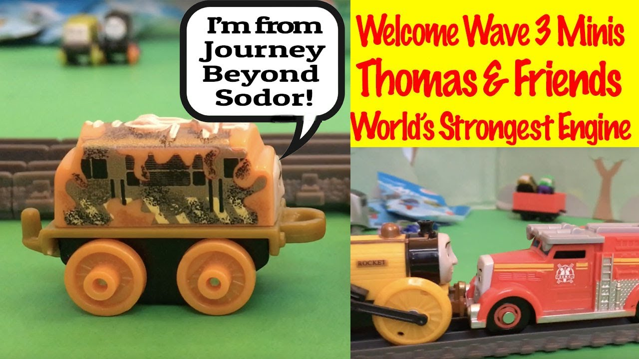 Thomas and Friends Welcome 2017 Wave 3 New Minis - World's Strongest Engine Kids Toys