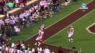 Trey metoyer's first career touchdown at ou