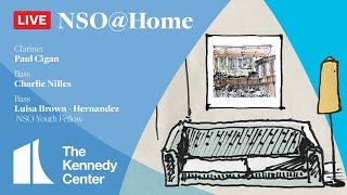 NSO @ Home LIVE • July 26 • Cigan, Nilles & Brown-Hernandez