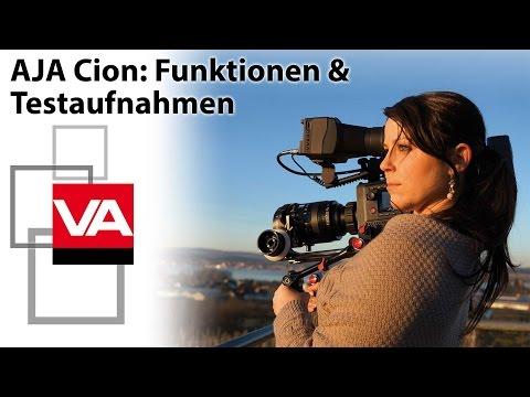 AJA Cion: 4K-Broadcast-Camcorder