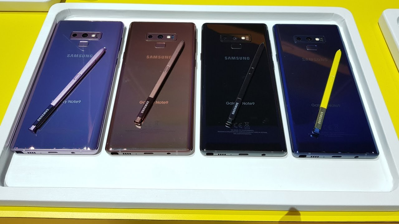 Hands On Samsung Galaxy Note 9 Indonesia Youtube