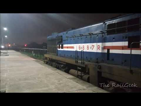 Small Night Railfaning at Gomti Nagar(GTNR) spotting Bagh Exp and more...