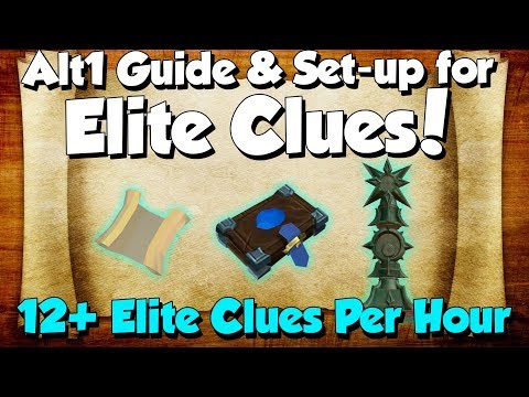 Elite Clue Scroll Guide! 12+ Clues/hr! [Runescape 3] My Set-up & How To Use Alt1 Efficiently